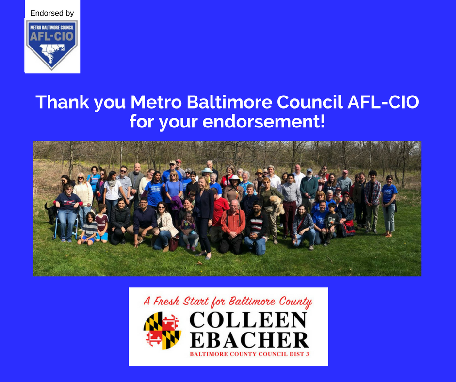 AFL-CIO endorsement thank you